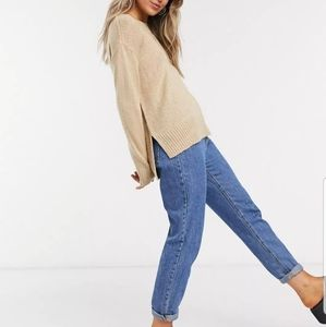 SWS Beige Baggy Sweater